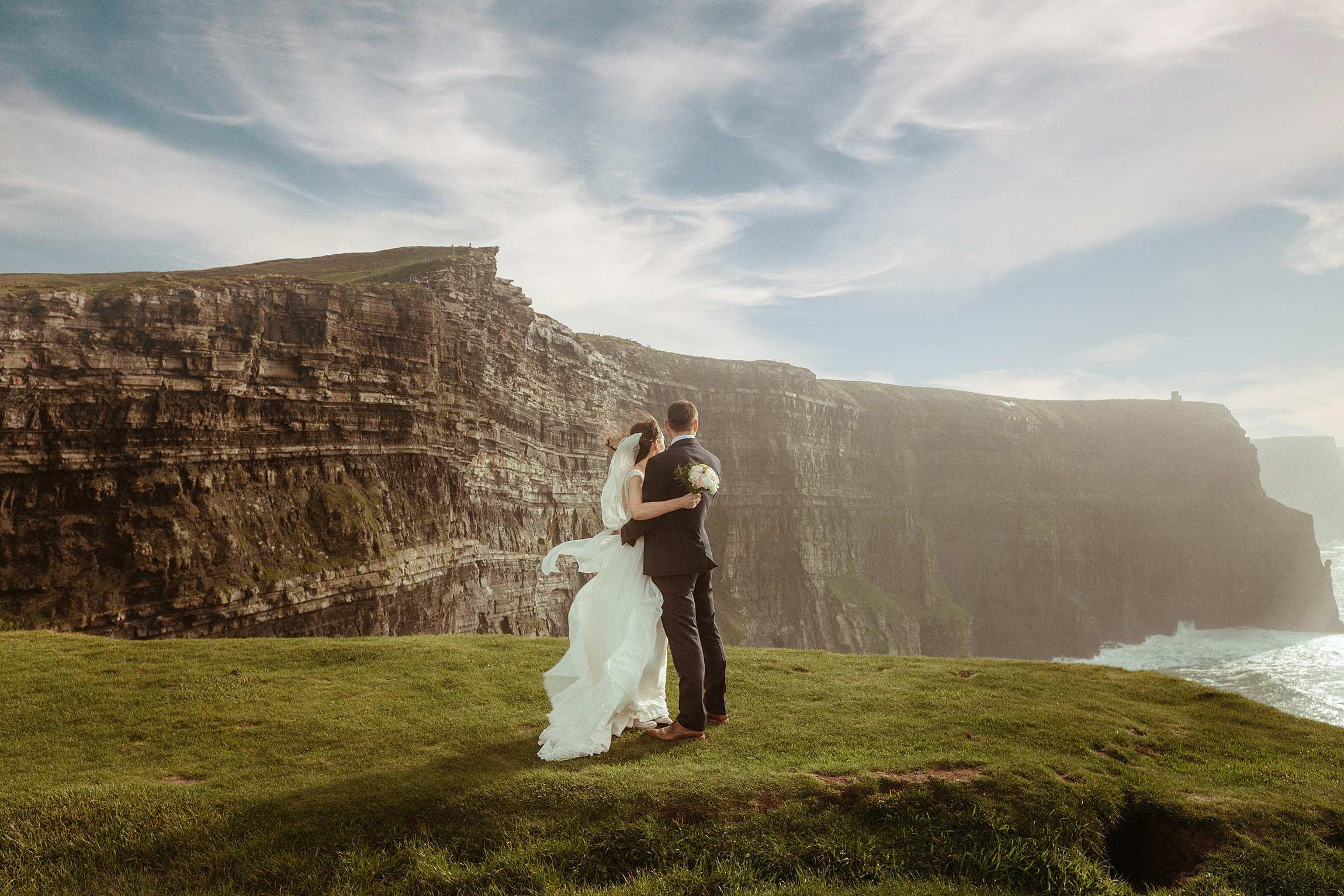 elopement ireland cliffs of moher