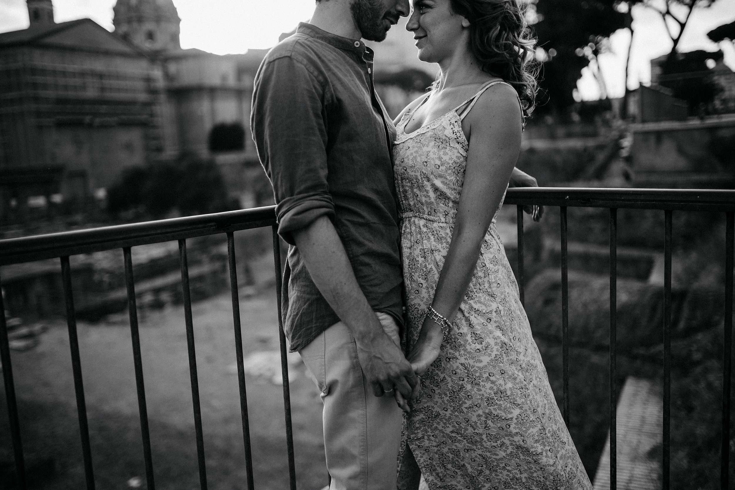 engagement session roma fori romani