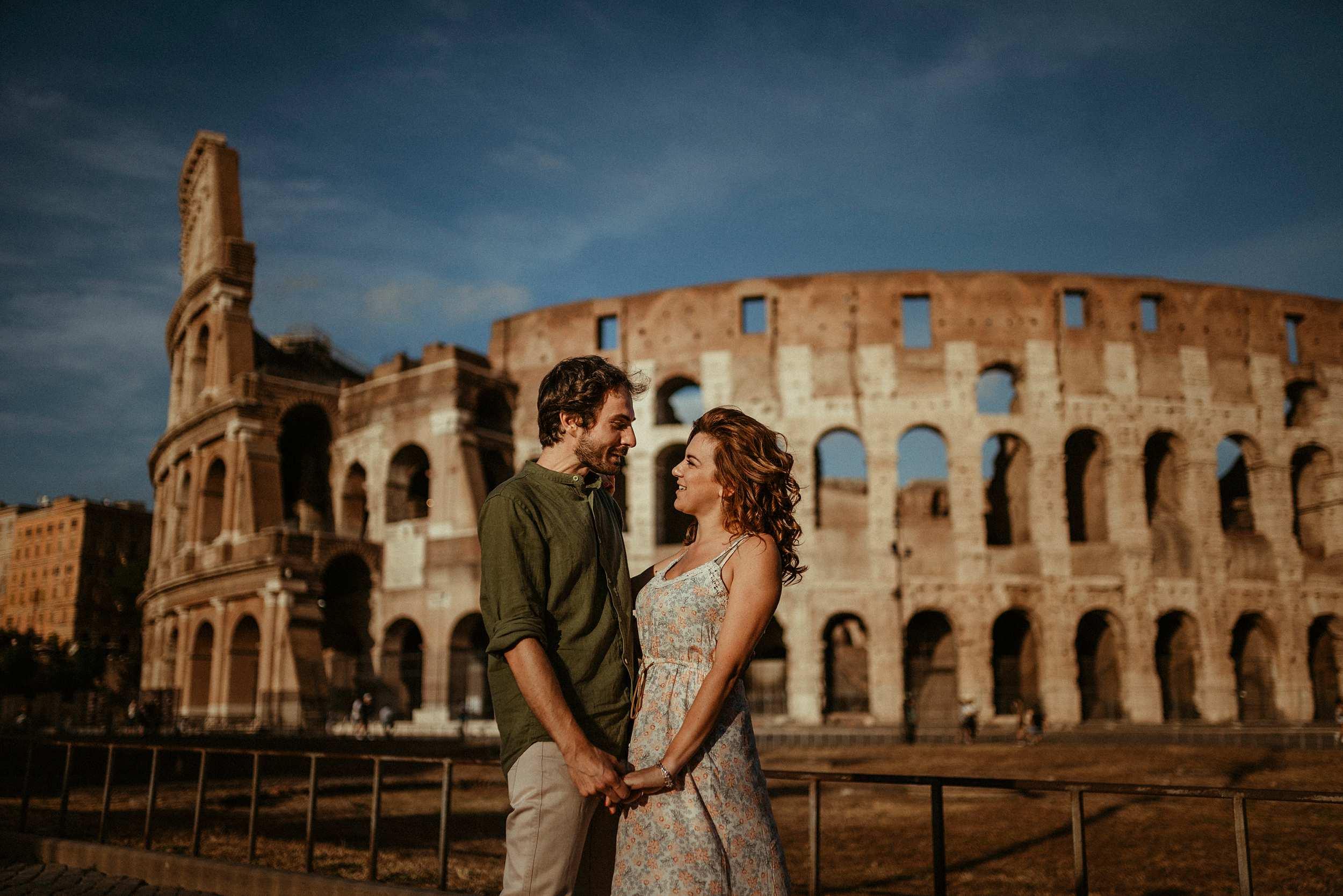 servizio di coppia Roma Colosseo