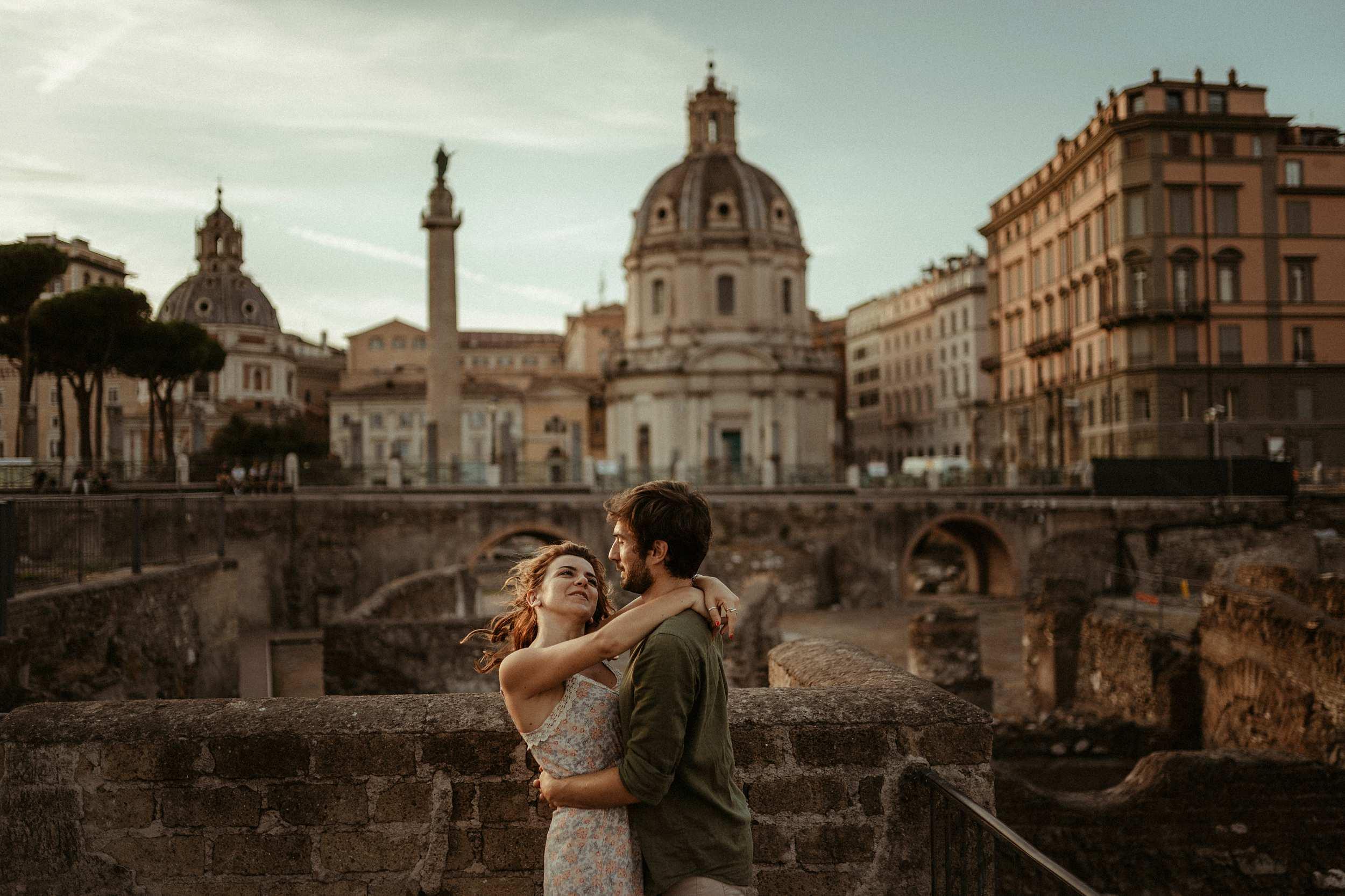 servizio di coppia Roma fori romani