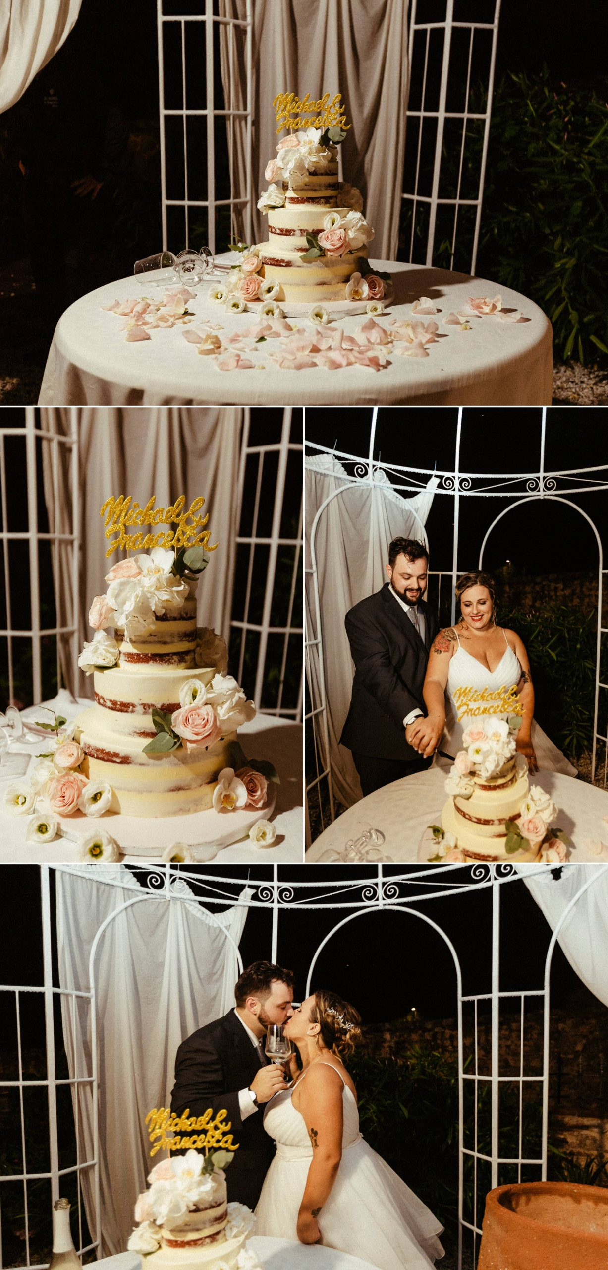torta nuziale matrimonio a la sosta in toscana lucca
