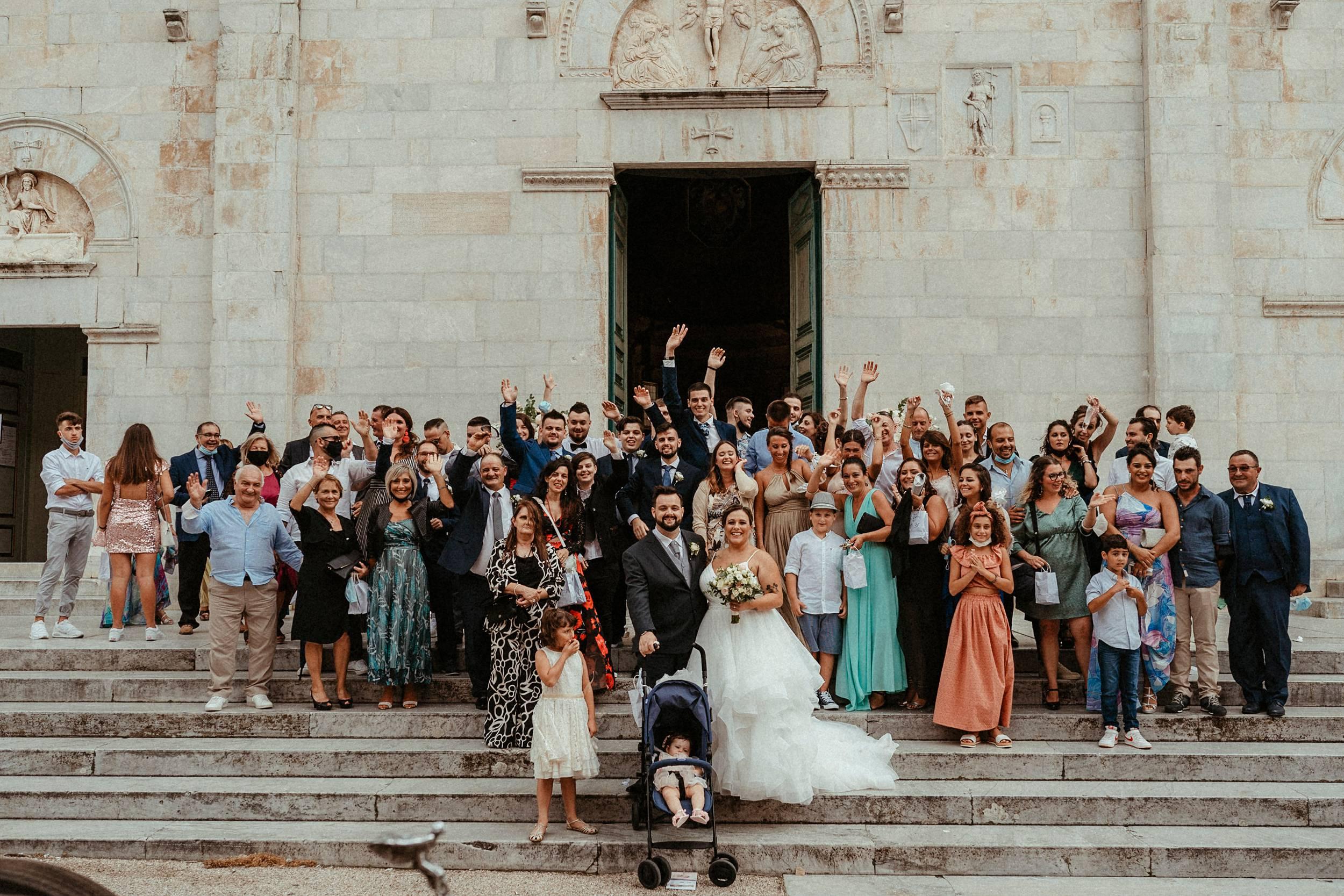 matrimonio a Pietrasanta Duomo