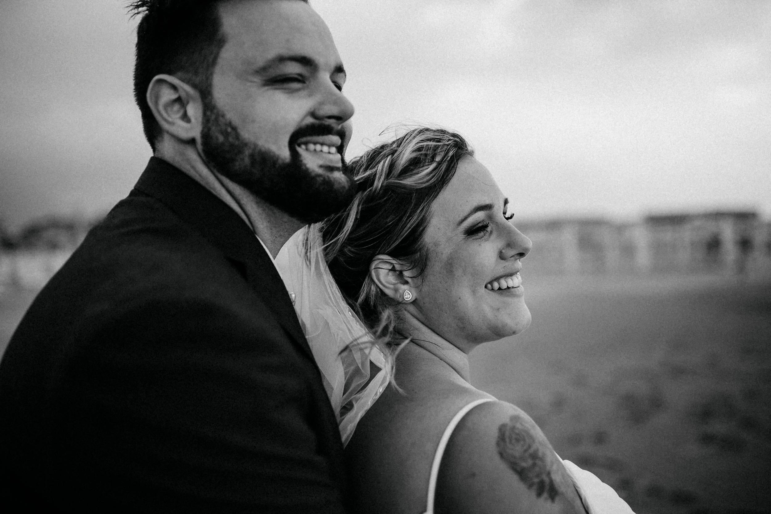 sessione intima matrimonio in spiaggia